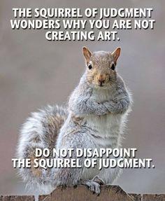 Squirrel of Judgment