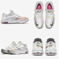 outlet store 95caa b9781 nike kd 7 premium with angel wings on the strap