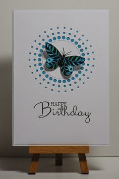 Cathys Card Spot: Butterfly & dots