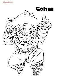 74 Dragon Ball Z Printable Coloring Pages For Kids Find On Book Thousands Of