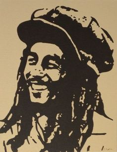 Musician Bob Marley Original Medium Acrylics Pop Art Painting Direct from Artist #PopArt