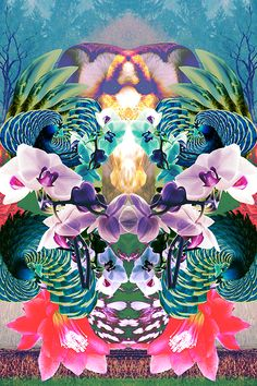 psychedelic graphic design | art trippy psychedelic collage mask graphic design surreal digital ...