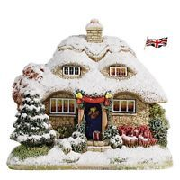 Lilliput Lane Cottage Christmas Collection Snowy Brow Ornament Decoration Gift