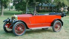 1918 Model 735B 7-passenger Touring Stanley Steam Car...