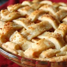 No Sugar Apple Pie Allrecipes.com    Substitute 100% apple juice in place of the concentrated apple juice (apple juice concentrated still contains high amounts of sugar).