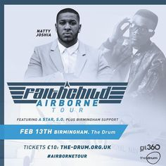 @nattyjoshia will be part of the well supported #airbornetour with @faithchild 13th Feb @thedrumbirmingham #supportukmusic