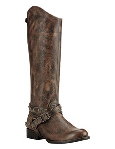 Ariat Women's Manhattan Brooklyn Brown Round Toe Fashion Boot | Cavender's