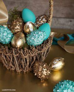 Make Your Own Elegant Easter Eggs