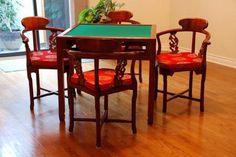 Redwood Mah-Jongg Table