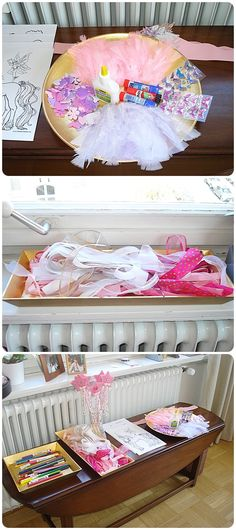 sew and the city: Unicorn Birthday Party  decorate pegasus wings or wing crowns