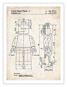 "LEGO MINIFIGURE POSTER 1979 Patent Art Print (18"" x 24"") ... https://www.amazon.com/dp/B01KB6BVFU/ref=cm_sw_r_pi_dp_x_NQ2eybMWAZY7G"