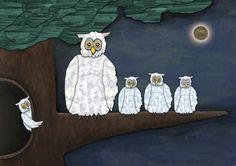NightOwls. Collage reused fused - elzevandenakker   ello