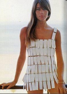 "-Paco Rabanne-  ""Françoise Hardy'  (1966)"