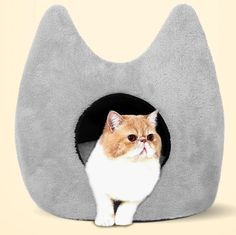 House Pet Cat Supplies Soft Warm Home Cushion Small Size Kitten Toy Room