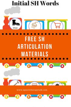 Free SH Articulation Materials - Get your free word lists, games, and more!