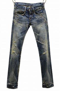 Mail order site DeeTA (Dee Tee er) KURT low-rise tapered (XX-R vintage Respect) select shop of MERCURY (Mercury)