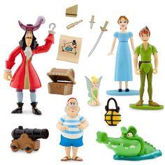 Walt Disneys Peter Pan Collectible Figure Set:Amazon:Toys & Games