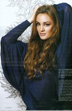 Leighton Meester... Favorite young actress.