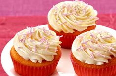 Our basic cupcake recipe will help you make perfect cupcakes every time. This cupcake recipe makes 24 cupcakes. It's our most popular cake recipe on site! Basic Cupcake Recipe, Gluten Free Cupcake Recipe, Gluten Free Treats, Gluten Free Cakes, Gluten Free Baking, Gluten Free Desserts, Dairy Free Recipes, Cupcake Recipes, Baking Recipes