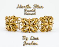 *P North Star Bracelet Pattern Tutorial By Lisa by LisaJordanDesigns