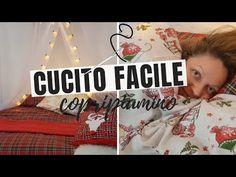 CUCITO FACILE: PROGETTO COPRIPIUMINO FAI DA TE - YouTube Youtube, Singer, Embroidery, Sewing, Album, Needlepoint, Dressmaking, Couture, Singers