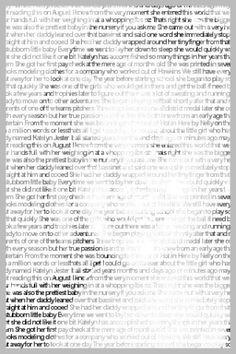 Descriptive portrait essay