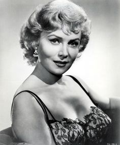 Film and TV actress Rhonda Fleming turns 91 today. She was born 8-10 in 1923. She appeared in more than 40 films, mostly in the 40s and 50s and was renown as a very glamorous actress in her day. Her first break out roll came in Hitchcock's Spellbound (1945).