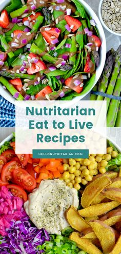 The Hello Nutritarian Recipe Index Vegan Recipes Videos, Vegan Recipes Easy, Whole Food Recipes, Vegetarian Recipes, New Recipes, Dessert Recipes, Desserts, Agaves, Plant Based Diet