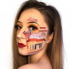 bts boy with luv makeup 😍 Bts Makeup, Makeup Art, Makeup Ideas, Cute Makeup Looks, Pretty Makeup, Nail Games, Nail Shop, Aesthetic Makeup, Matte Nails