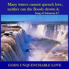 Song of Solomon 8:7 KJV if a man would give all the substance of his house for love, it would utterly be condemned.
