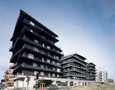 Viviendas Ginko Eco-Vecindad by Nicolas Laisné + Christophe Rousselle ( Garonne River, Bordeaux, Francia) #architecture