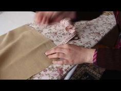 Köşe Nasıl Yapılır? Antikalı Köşe Yapımı - YouTube Hem Stitch, Cross Stitch, Bargello, Couture, Sewing Techniques, Floral Tie, Diy And Crafts, Embroidery, Blog