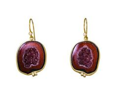 Kothari Elements | Tabasco Geode Earrings in Designers Kothari Elements Earrings at TWISTonline