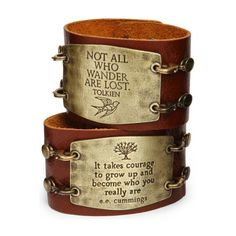 Leather Statement Cuffs