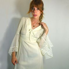 70s Lace Festival Dress, now featured on Fab.