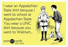 It's great to be a Mountaineer!!!    @Melissa Mangum @Ashley McGough