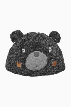 Buy Grey Bear Fleece Hat (0-18mths) from the Next UK online shop