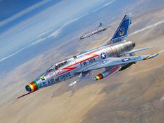 Sharpening the Sabre Art Print by Stu Shepherd Military Jets, Military Aircraft, Air Fighter, Fighter Jets, Sabre Jet, Aircraft Painting, Airplane Art, Military Pictures, Aircraft Pictures