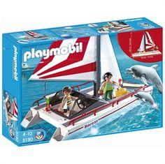 Birbirinden yaratıcı oyun setleriyle çocuğunuzun hayal gücünü zenginleştirir. Play Mobil Katamaran İle Yunuslar Oyun Seti