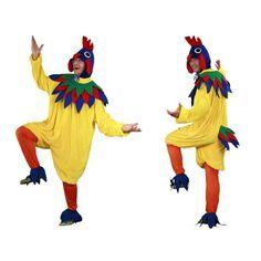 Disfraz de Gallo. Disfraz de Gallo con el que serás el más divertido del corral y ser el rey de las gallinas.