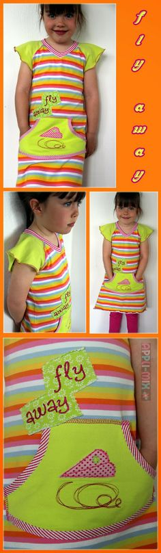Raglan-Kleid by appli-mix