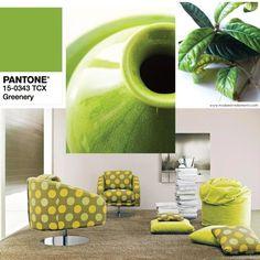 Pantone 15-0343 verde greenery: ritorna l'entusiasmo e la natura.
