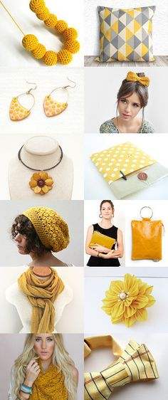 Gift Guide - The Yellow List by Washi Factory on Etsy--Pinned with TreasuryPin.com