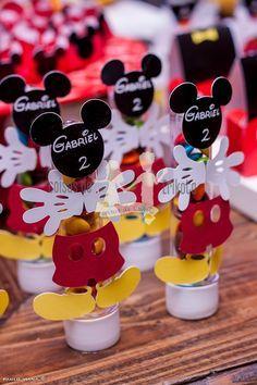 Coisas de Erikota: Festa Mickey e amigos do Gabriel