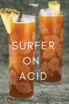 Retro Drinks We Love: Surfer on Acid--The wacky '80s Jäger shot gets a little more civilized.