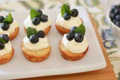 Lemon Blueberry Tarts - easy summer dish