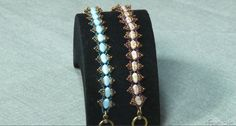 Embellish two-hole Silky beads with seed beads for this bracelet you can wear anytime.