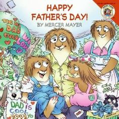 Happy Fathers Day (Little Critter Series) by Mercer Mayer Father's Day is just around the corner, and Little Critter and Little Sister have decided to plan a big surprise for Dad and Grandpa. Join them as they make cards, cook a special breakfast together, and put on a magic show. Lift the flaps and find out what Father's Day surprises are in store! #fathersday #giftideas