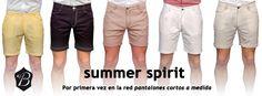 Colección SUMMER SPIRIT – Pantalones Cortos a Medida
