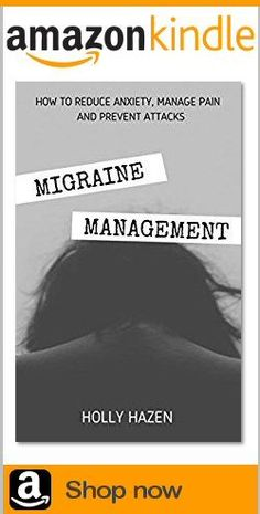 Migraine Management is the complete toolkit you need to reduce anxiety, manage pain and prevent attacks. Migraine attacks can be frightening, intensely painful, ruthless and soul destroying. If you are struggling, come read this book. Don't wait. Migraine Attack, Migraine Pain, Chronic Migraines, Migraine Relief, Stress Relief, Pain Relief, Migraine Triggers, Causes Of Panic Attacks, Libros